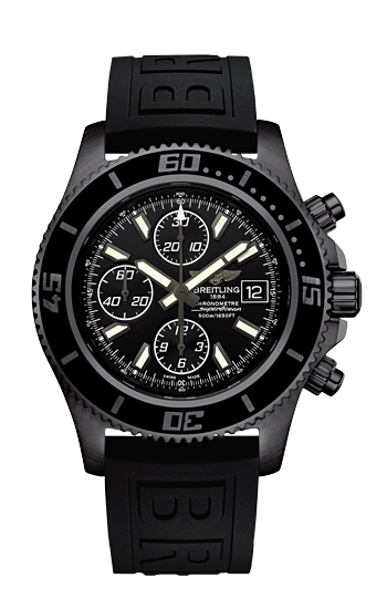 SUPEROCEAN CHRONOGRAPH BLACKTEEL