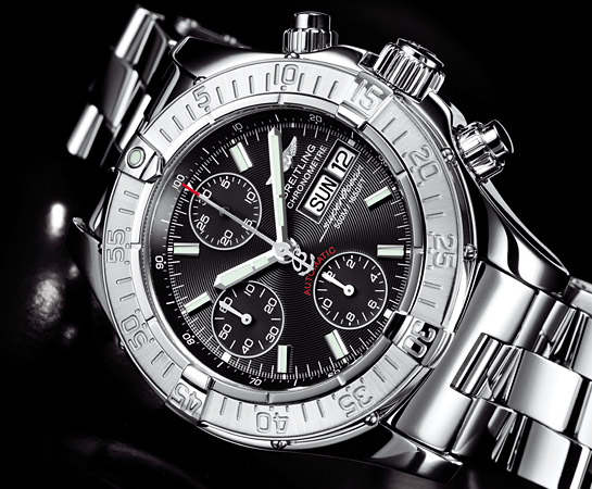 promo code 61962 8dbc7 CHRONO SUPEROCEAN BLACK LIMITED | JAPAN LIMITED | BREITLING